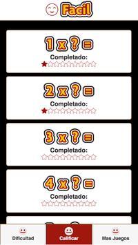 Tablas de Multiplicar screenshot 1