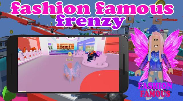 Fashion Famous Frenzy Dress Up Runway Show obby screenshot 5