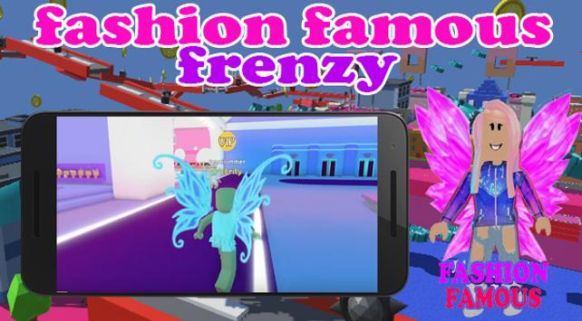 Fashion Famous Frenzy Dress Up Runway Show obby screenshot 6