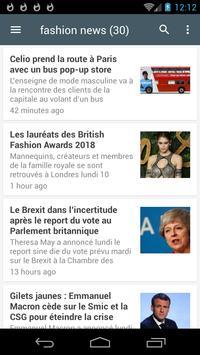 fashion news screenshot 2