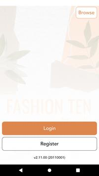 Fashion Ten and Trends الملصق