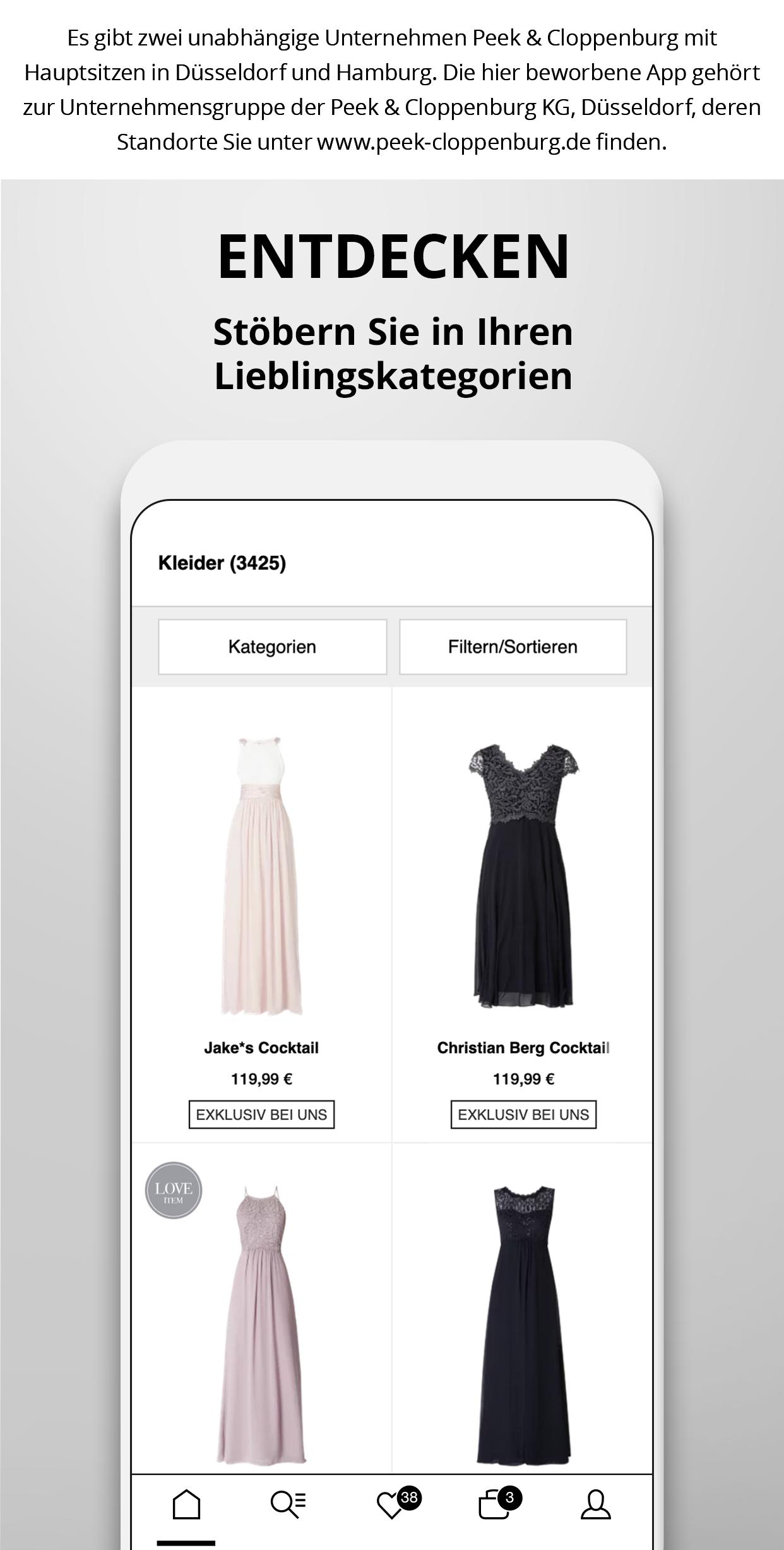 new styles 8a3b6 4f646 Peek&Cloppenburg* Fashion Shop for Android - APK Download