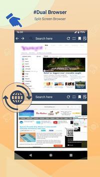 Fast Dual Browser screenshot 1