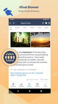 Fast Dual Browser screenshot 2