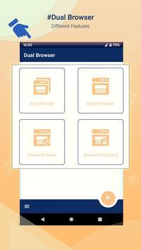 Fast Dual Browser screenshot 8
