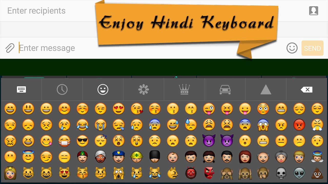 Hindi Eng Emoji Keyboard for Android - APK Download