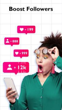 Likes+: Booster for Hearts & Fans imagem de tela 1