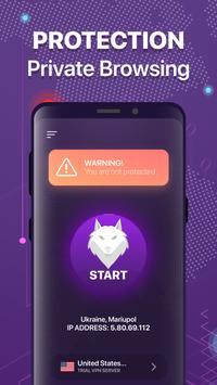 Wolf VPN الملصق