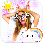 Snappy photo editor – funny stickers icon