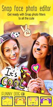 Snappy photo editor – funny stickers screenshot 6