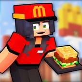 Fast Food Restaurant Mod for Minecraft ícone