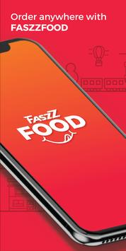 FASZZFOOD -  Food Delivery poster