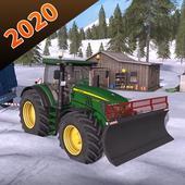 Village Tractor Farming Simulator 3D 2020 icono