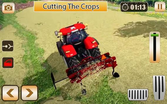 Village Tractor Farming Simulator 3D 2020 Poster