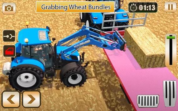 Village Tractor Farming Simulator 3D 2020 captura de pantalla 1