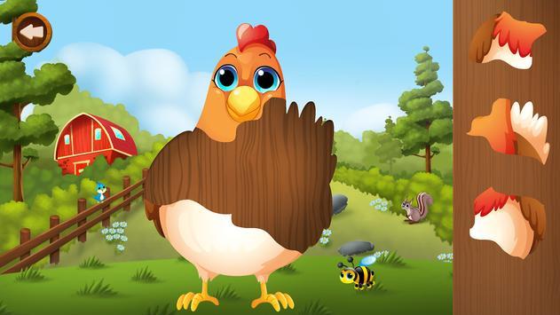 Puzzle Animaux pour Enfant capture d'écran 10