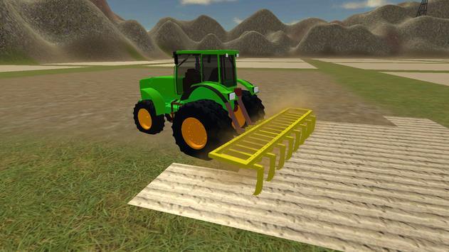 Farming Simulator Real Tractor Driving Racing Game poster