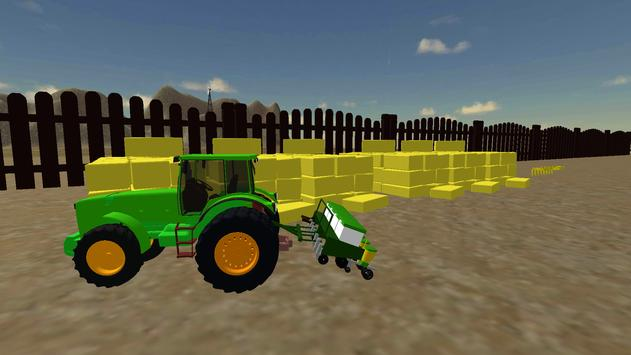 Farming Simulator Real Tractor Driving Racing Game screenshot 14