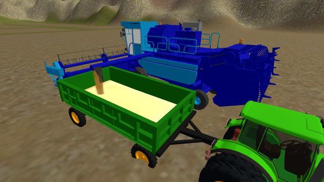 Farming Simulator Real Tractor Driving Racing Game screenshot 16