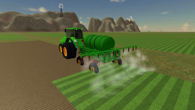 Farming Simulator Real Tractor Driving Racing Game screenshot 11