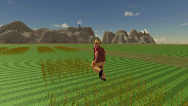 Farming Simulator Real Tractor Driving Racing Game screenshot 1