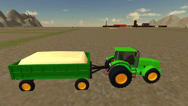 Farming Simulator Real Tractor Driving Racing Game screenshot 20