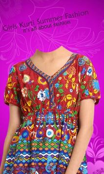 Girl Kurti Fashion Photo shoot screenshot 6