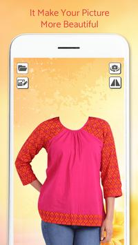 Girl Kurti Fashion Photo shoot screenshot 2