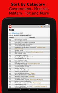Acronym Finder screenshot 9