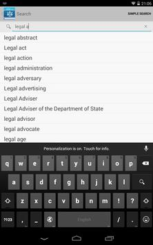 Legal screenshot 14