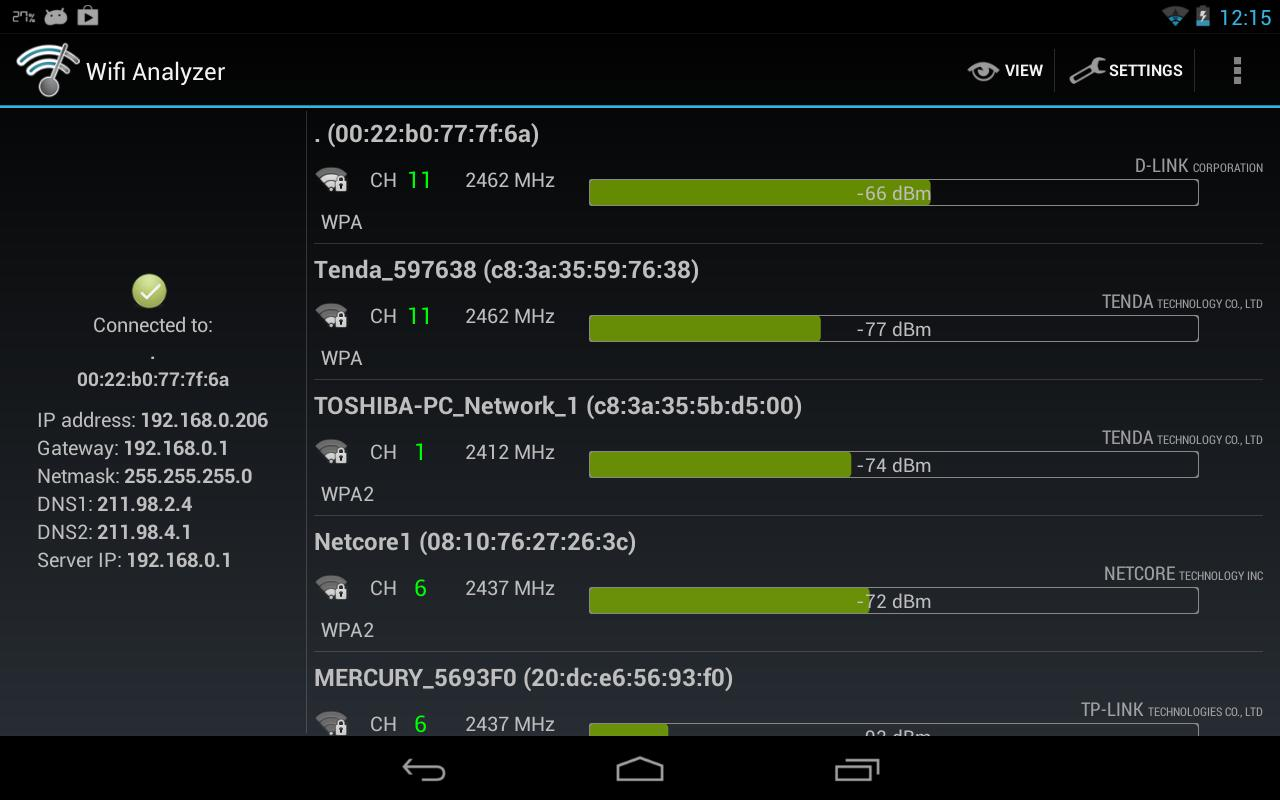 Wifi Analyzer Fur Android Apk Herunterladen