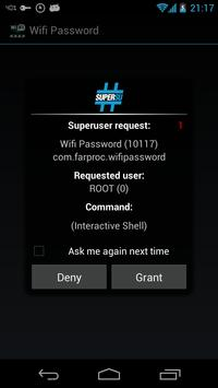 Wifi Password(ROOT) 截图 1