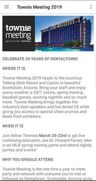 Townie Meeting poster