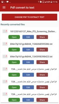 PDF Convert to Text screenshot 6