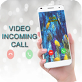 Full screen Video Ringtone for Incoming Calls