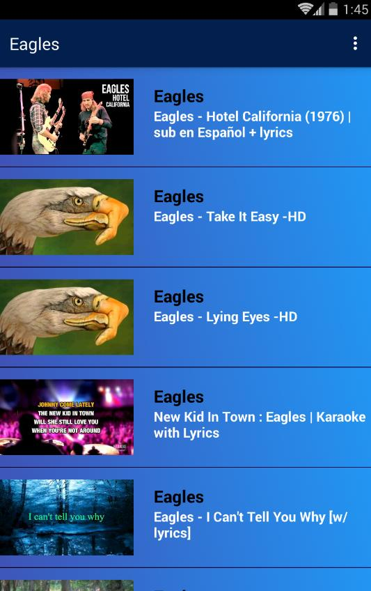 Eagles - Hotel California for Android - APK Download