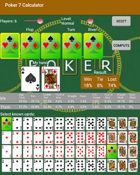 Poker 7 Calculator screenshot 4