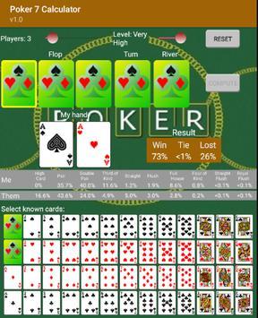 Poker 7 Calculator screenshot 5