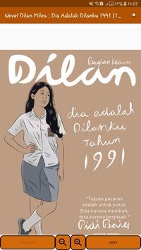 Novel Dilan Milea 2 : Dia Adalah Dilanku 1991 screenshot 11