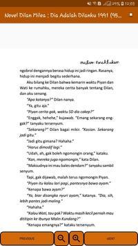 Novel Dilan Milea 2 : Dia Adalah Dilanku 1991 screenshot 13