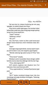 Novel Dilan Milea 2 : Dia Adalah Dilanku 1991 screenshot 6