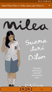 Novel Dilan Milea 3 : Milea, Suara Dari Dilan screenshot 11