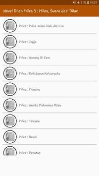 Novel Dilan Milea 3 : Milea, Suara Dari Dilan screenshot 2