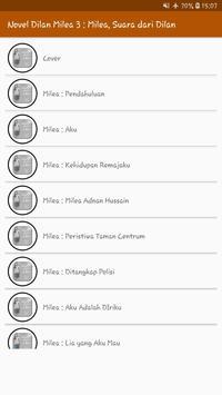 Novel Dilan Milea 3 : Milea, Suara Dari Dilan screenshot 8