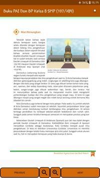 Buku PAI Dan BP Kelas 8 SMP screenshot 5