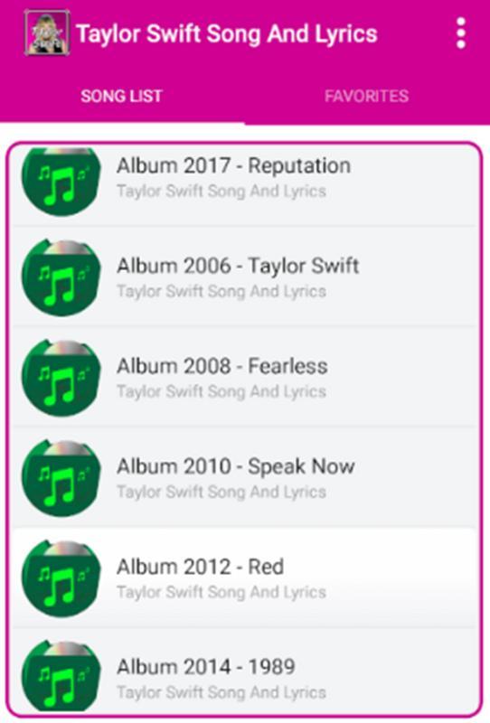taylor swift album download 1989