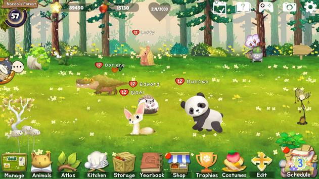 Animal Forest : Fuzzy Seasons (Start Pack Edition) imagem de tela 5