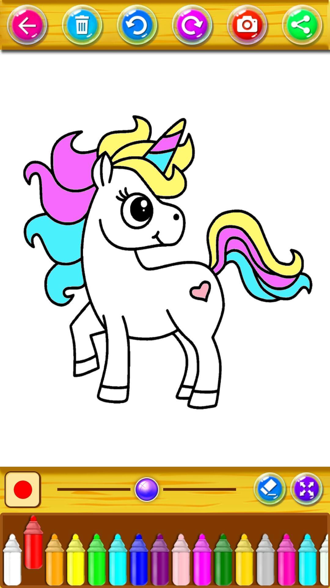 Mewarnai Unicorn Kecil For Android Apk Download