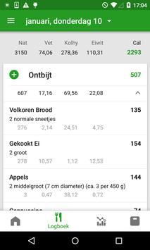 CalorieTeller door FatSecret screenshot 1