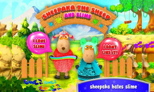 Sheepaka The Sheep & Slime! Crazy Goat Simulation screenshot 8